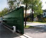 BK - серия приводов для откатных ворот до 2200 кг.