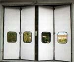 F - серия приводов для складывающихся ворот.