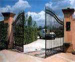 FERNI - привод рычажного типа для распашных ворот.